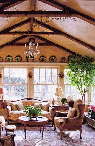 Patricia marian cove architectural interiors design for Garden room interior